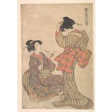 Kitao Shigemasa: Picture of the Eastern Beauties - Metropolitan Museum of Art