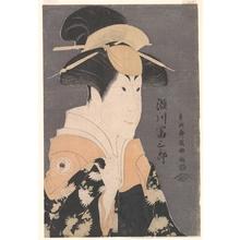 Toshusai Sharaku: Segawa Tomisaburô II as Yadorigi in the Play