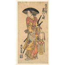 Tsunegawa Shigenobu: The Actor, Arashi Otohachi, 1695–1769 in an Unidentified Role - メトロポリタン美術館