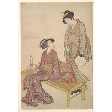 Kitao Shigemasa: The Hand Lantern - Metropolitan Museum of Art