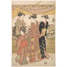 Katsukawa Shuncho: The Bôtan Show - Metropolitan Museum of Art