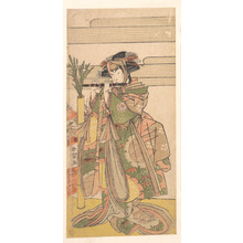 Katsukawa Shunjô: The Third Segawa Kikunojo as a Woman - メトロポリタン美術館