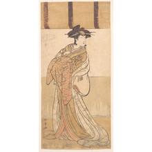 Katsukawa Shunjô: Nakamura Riko in the Role of Oiso no Tora - メトロポリタン美術館