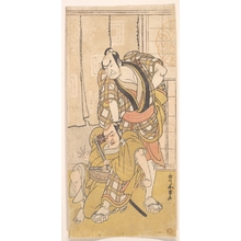Katsukawa Shunjô: Scene from a Play - メトロポリタン美術館