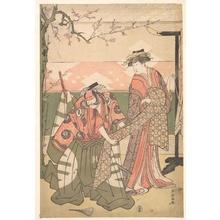 Katsukawa Shuncho: Scene From a Drama - Metropolitan Museum of Art