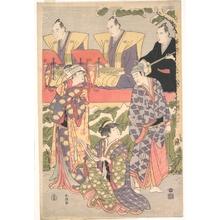 Katsukawa Shuncho: Ichikawa Komazo II in the Role of Ouchinosuke Ujiyasu from the Play