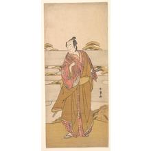 Katsukawa Shunjô: Ichikawa Monosuke II - メトロポリタン美術館