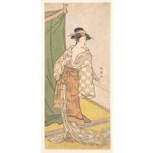 Katsukawa Shunjô: Segawa Kikunojo III - メトロポリタン美術館