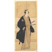 Katsukawa Shunjô: An Unidentified Actor in the Role of a Samurai - メトロポリタン美術館