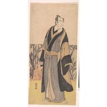 勝川春好: The Actor, Matsumoto Koshiro I 1674–1730 in an Unidentified Role - メトロポリタン美術館