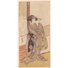 勝川春好: Iwai Hanshiro IV - メトロポリタン美術館