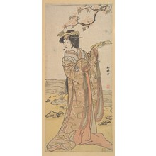 Katsukawa Shunko: The Third Segawa Kikunojo as a Woman - Metropolitan Museum of Art