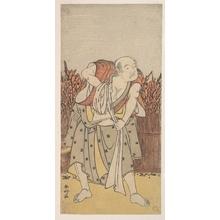 勝川春好: The Second Nakamura Sukegoro as an Old Man - メトロポリタン美術館