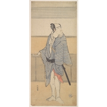 Katsukawa Shunko: An Unidentified Actor - Metropolitan Museum of Art