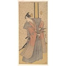 Katsukawa Shunko: The Third Segawa Kikunojo in the Role of Oboshi Rikiya - Metropolitan Museum of Art