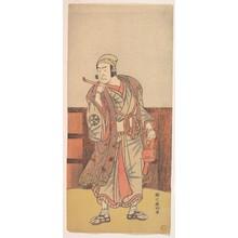 勝川春好: The First Nakamura Nakazo in the role of Shimada no Hachizo - メトロポリタン美術館
