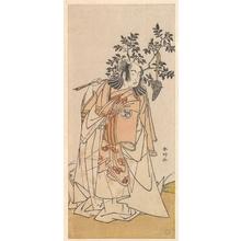 Katsukawa Shunko: The Actor Bando Mitsugoro I as a Man in Daimyo Attire - Metropolitan Museum of Art