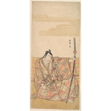 Katsukawa Shunsho: The Fourth Matsumoto Koshiro as a Samurai - Metropolitan Museum of Art