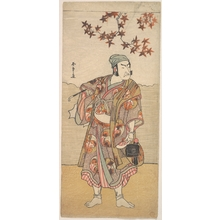 Katsukawa Shunsho: The First Nakamura Nakazô in the Role of Shimada no Hachizô - Metropolitan Museum of Art