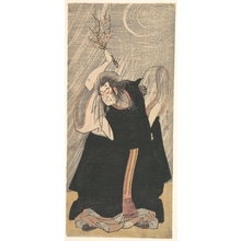 Katsukawa Shunsho: The Actor Nakamura Nakazô in the Role of Kan Shôjô - Metropolitan Museum of Art