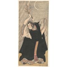 Katsukawa Shunsho: The Actor Nakamura Nakazô in the Role of Kan Shôjô - Metropolitan Museum of Art