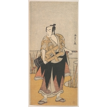 Katsukawa Shunsho: The Fourth Matsumoto Koshiro as a Man Standing on the Bank of a River - Metropolitan Museum of Art