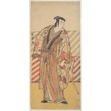 Katsukawa Shunsho: Onoe Matsusuke as a Samurai of the Fujiwara Clan - Metropolitan Museum of Art