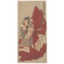 Katsukawa Shunsho: The Fifth Ichikawa Danjuro in a Shibaraku Role - Metropolitan Museum of Art