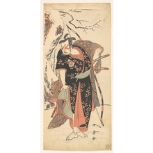 Katsukawa Shunsho: The Second Nakamura Juzo as a Samurai of High Rank - Metropolitan Museum of Art