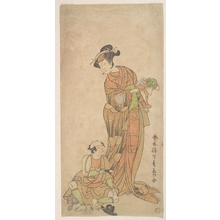 Katsukawa Shunsho: The Second Yamashita Kinsaku in the Role of Shigenoi - Metropolitan Museum of Art