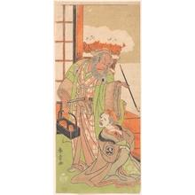 Katsukawa Shunsho: Scene From the Second Act of the Drama
