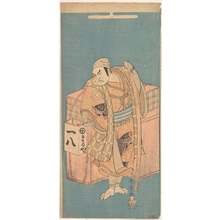 勝川春章: The Actor Otani Hiroji I 1699–1747 in the Role of a Fish–vendor - メトロポリタン美術館
