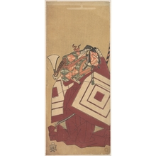Katsukawa Shunsho: The Fifth Ichikawa Danjuro as Kisou Takiguchi - Metropolitan Museum of Art