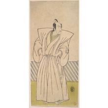 勝川春章: The Fifth Ichikawa Danjuro as a Samurai of High Rank - メトロポリタン美術館