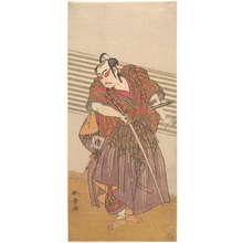Katsukawa Shunsho: The Second Ichikawa Yaozo as a Samurai - Metropolitan Museum of Art
