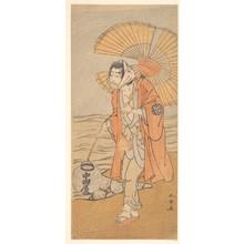 勝川春章: The Actor Nakamura Nakazo I - メトロポリタン美術館
