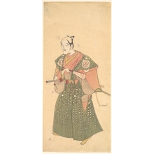 Katsukawa Shunsho: Arashi Otohachi I - Metropolitan Museum of Art