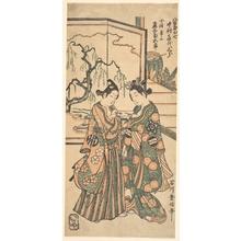Ishikawa Toyonobu: Drama of Areshi Soga - Metropolitan Museum of Art