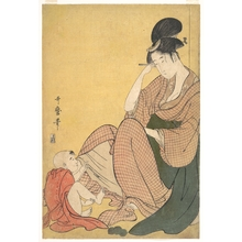 Kitagawa Utamaro: Woman and Child - Metropolitan Museum of Art