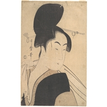 Kitagawa Utamaro: Woman after a Bath - Metropolitan Museum of Art