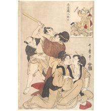 喜多川歌麿: Chushingura Act III - メトロポリタン美術館