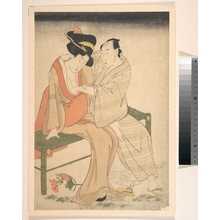 Kitagawa Utamaro: A Pair of Lovers - Metropolitan Museum of Art