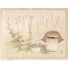 Kubo Shunman: Set of Utensils for the Tea Ceremony - Metropolitan Museum of Art