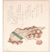 Kubo Shunman: Biwa (Japanese Lute) with Cover - Metropolitan Museum of Art