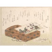 Ryuryukyo Shinsai: Surimono and a Box - Metropolitan Museum of Art