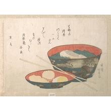 蹄斎北馬: Bowl of New Year Food - メトロポリタン美術館