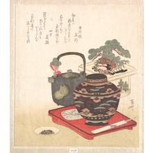 柳々居辰斎: New Year Decorations and Tablewares - メトロポリタン美術館