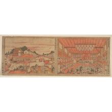 Utagawa Toyoharu: Cooling at Nakazu/ Kabuki Theater - Metropolitan Museum of Art