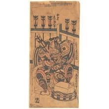 鳥居清信: An Actor Portrait (Wears a Danjuro Mon) - メトロポリタン美術館
