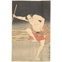 Utagawa Toyokuni I: An Actor Beside Water - Metropolitan Museum of Art